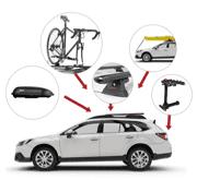 Tutti i prodotti Yakima: portapacchi per auto e accessori